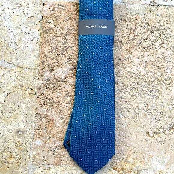 Michael Kors Blue Necktie